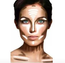highlighting and contouring makeup tips 1