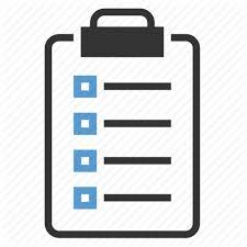 Checklist List Organizer Record Survey Tasks Todo Icon