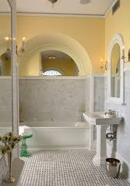 traditional marble bathrooms. Minneapolis Carrara Marble Bathrooms With Door Surface Mount Medicine Cabinets Bathroom Traditional And Pedestal Sink Yellow T