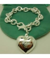 dels tiffany mom heart charm bracelet replica