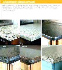 edges for granite countertops pictures half granite edge half edge granite edges for granite countertops pictures