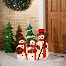 lighted snowman outdoor decorations fun ideas snowman outdoor regarding outdoor snowman decorations 19392