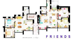 floor plans of your favorite tv apartments