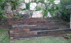 railroad ties for garden how to build a tie wall incredible railroad ties for landscaping with regard railroad ties garden bed