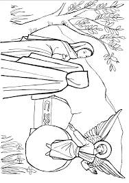 Small Picture Jesus Resurrection Coloring Pictures