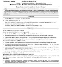 Resume Examples For Accounting 100 Images Accountant Lamp