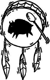 Native American Art Native American Drum Coloring Page