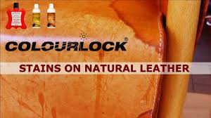 how to remove stains on natural leather colourlock com