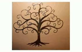 wall art design ideas branches tree of life metal wall