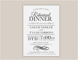 Rehearsal Dinner Invitations Templates Unique Printable Rehearsal Enchanting Free Dinner Invitation Templates Printable