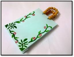 Chart Paper Flower Making How To Make A Paper Bag Art Platter