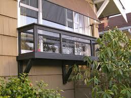 Diy Window Boxes Cat Enclosures Seattle Catio Spaces Window Box Kao Kao