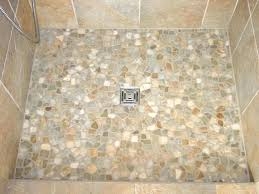 home design shower floor cleaner another good blend pebble tile shower floor cleaner how to a using tiles