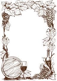 Wine Border Template Wine Border Template Under Fontanacountryinn Com