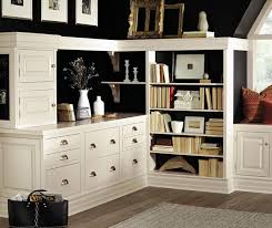home office cabinetry. Inset Cabinets In A Home Office By Decora Cabinetry Cabinetry D