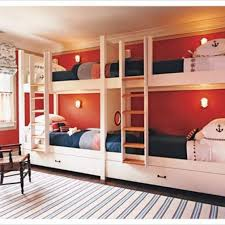 2019 Four Person Bunk Bed  Interior Design for Bedrooms
