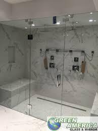 custom hotel frameless shower doors miami beach