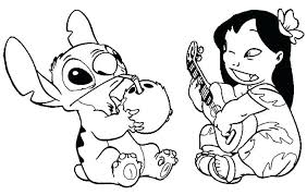 Stitch Coloring Pages Lilo And Stitch Coloring Pages Book Surfing