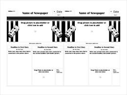 Classroom Newspaper Template 7 Classroom Newspaper Templates Free Sample Example Format