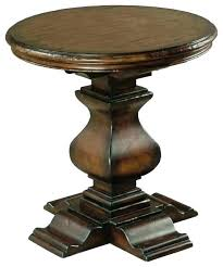 pedestal accent table round wood pedestal accent table und amazing wonderful small end for dark wood