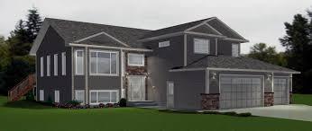 modified bi level home plans unique bi level garage additions of modified bi level home plans