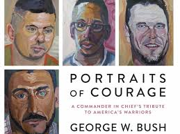 George W Bush S Book With 66 Oil Paintings Business Insider