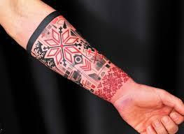 славянские татуировки и их значение руны обереги орнаменты