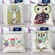 Owl Pillow Pattern Popular Owl Pillow Covers Buy Cheap Owl Pillow Covers Lots From