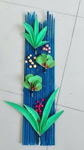decoration wall art hanging craft ideas with paper