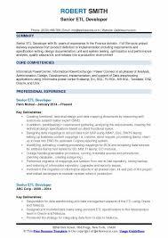Senior ETL Developer Resume Samples QwikResume Simple Teradata Etl Developer Resume