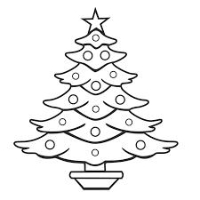 Printable Christmas Tree Inspirational Free Christmas Tree Coloring Pages Printable