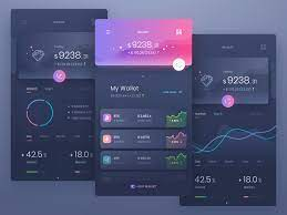 Answer a few basic questions to create a list of wallets that might portable and convenient; 7 Cryptocurrency App Interface Designs For Your Inspiration Invision