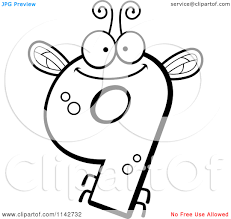 Small Picture number 9 free style numbers free coloring book pages find print