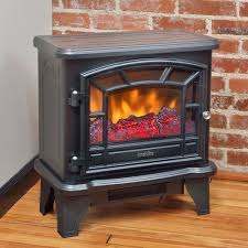 small duraflame electric fireplace