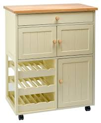 Free Standing Kitchen Storage Traditional Buttermilk Multi Purpose Country Kitchen Freestanding