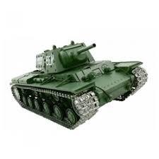 «<b>Радиоуправляемый танк Heng Long</b> Russia КВ-1 Pro масштаб 1 ...
