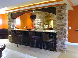 Planning Ideas Brick Stone Basement Bar Ideas Furniture Wet Bar