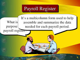 What Is A Payroll Register Chapter 10 Current Liabilities Financial And Managerial Accounting