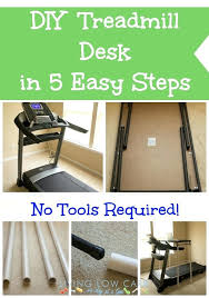treadmill laptop holder diy treadmill desk in 5 easy steps no tools required 2 home decorators catalog outdoor rugs