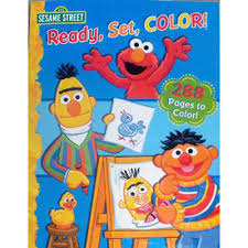 Coloring Sesame Street Coloring Books Fresh On Model Tablet