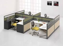 round office desks. round office cubicle furniture for 4 person desks