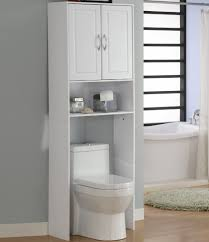 Bathroom Storage Cabinets Over Toilet White