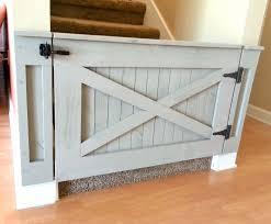 Dutch Door Baby Gate Rustic Dog Baby Gate Barn Door Style W Side Panels Baby Gates