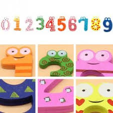Jouets Pour Bébé 10pcs Lettres Enfants Alphabet En Bois Aimant Pour