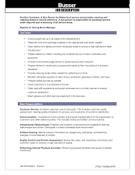 Agreeable Restaurant Manager Job Duties Resume On Dining Room Manager Resume  Sample .