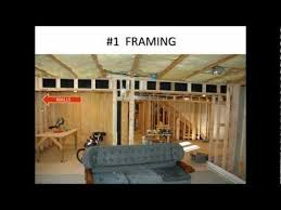 how do you finish a basement 7 major