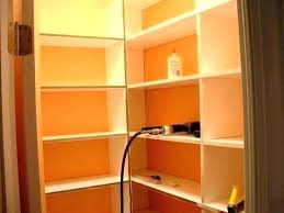 building pantry storage how to build a installing shelves floating comfortable corner google search in cabinets