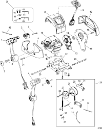 Mercury accessories remote controls and ponents 1994 up mercury outboard remote control wiring mercury outboard shifter controls diagram