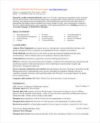 Retail Manager Resume Template Adorable 48 Retail Manager Resumes Free Sample Example Format Free