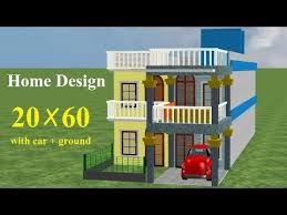 20 60 house plan 20 by 60 house plans